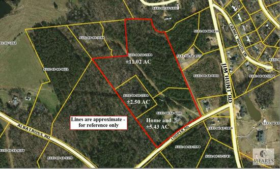 Real Estate - 18.95+/- Acres with Single Family Home