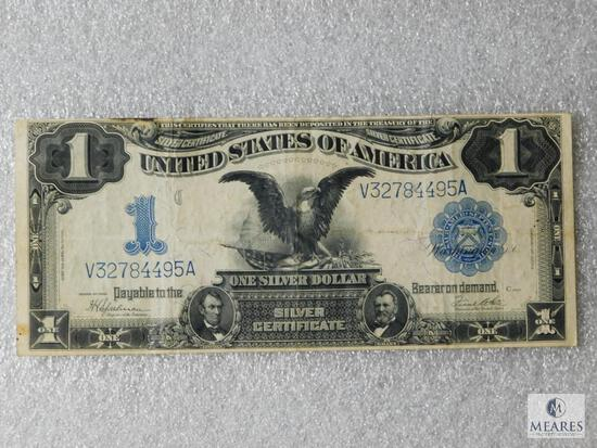 Large format - US $1 Lincoln-Grant silver certificate - Series of 1899