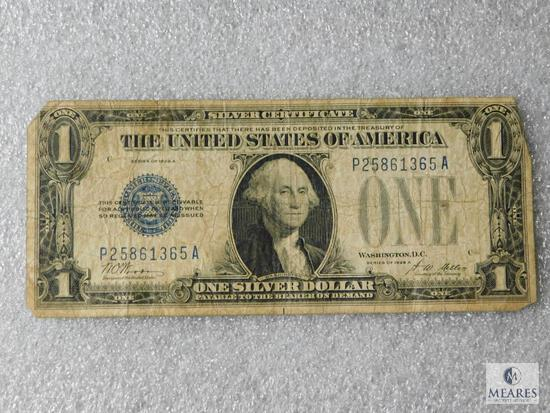 Series 1928-A US $1 small size silver certificate