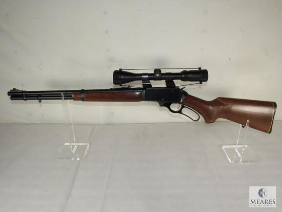 Marlin model 366 Lever Action .35 REM Mag Rifle with Scope