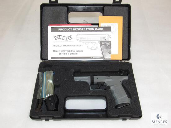 Walther P22 .22 LR Semi-Auto Pistol + Additional barrel