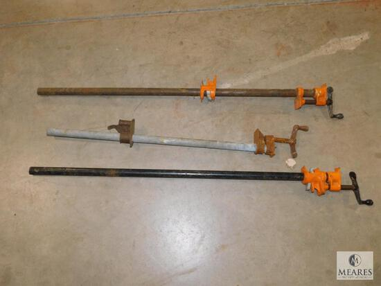Lot of 3 Large Clamps