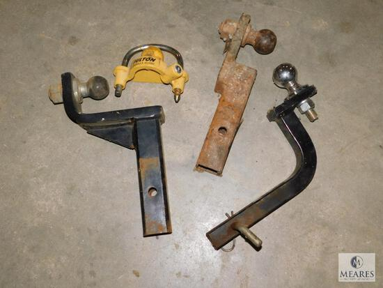 Lot of Tow Hitches and Trailer Balls