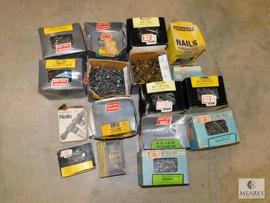 Large Tote of Screws & Nails - most Grip Rite brands