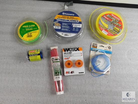 Lot of assorted Weed Trimmer Wire