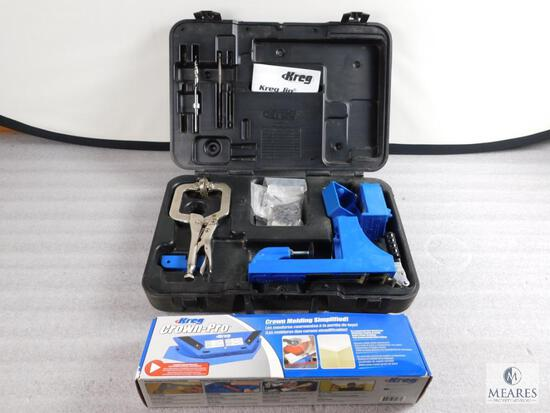 Lot Kreg Jig Pocket System & Crown-Pro Tool
