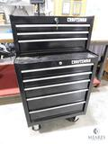 8 Drawer Craftsman Tool Chest Rolling Tool Box includes Keys & some contents