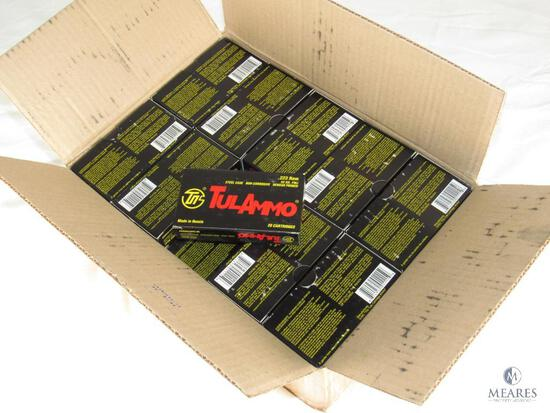 Case 1000 Rounds TulAmmo .223 REM FMJ 55 Grain Steel Case Ammo