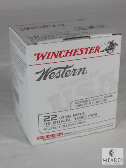 525 Rounds Winchester .22 LR Ammo 36 Grain Hollow Point 1280 FPS