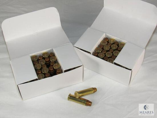 100 Rounds .38 Special Ammo PMC 140 Poly SWC
