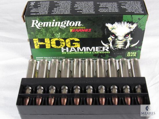 20 Rounds Remington Hog Hammer .308 WIN Ammo 168 Grain TSX