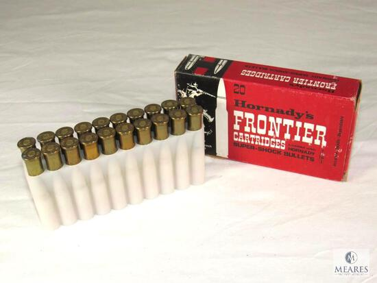 20 Rounds Hornady's Frontier Cartridges 30-30 Ammo 170 Grain Flat Point Bullets