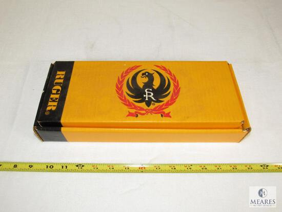 Vintage Yellow Ruger Handgun Box