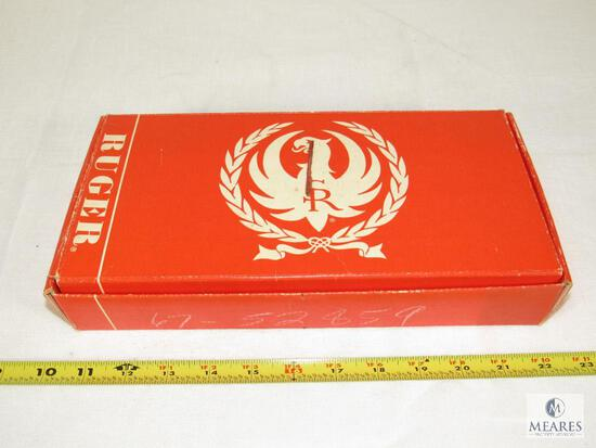 Vintage Ruger Red Single Six Box