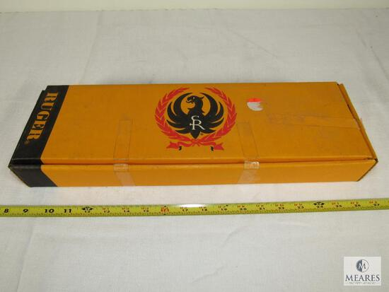 Vintage Yellow Ruger Redhawk Box