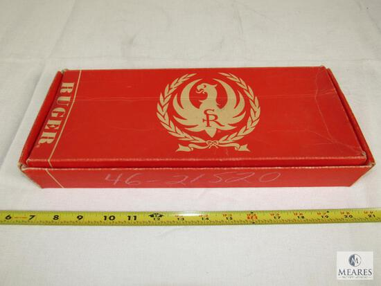 Vintage Red Ruger Blackhawk Box