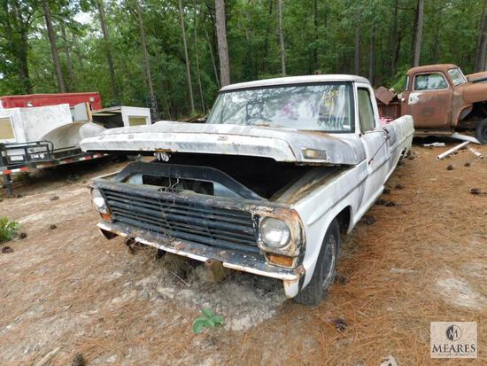 Ford F100 - VIN: F10YED56567 - possibly 1967