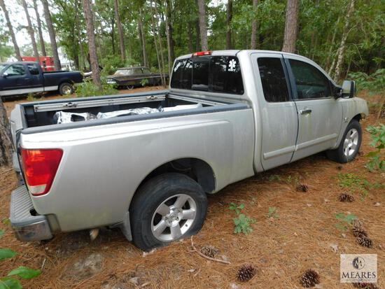 2004 Nissan Titan Pickup Truck, VIN: 1N6AA06A64N563156