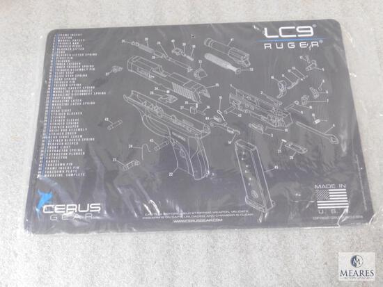 New Cerus Gear Ruger LC9 Gun Mat Dark Gray