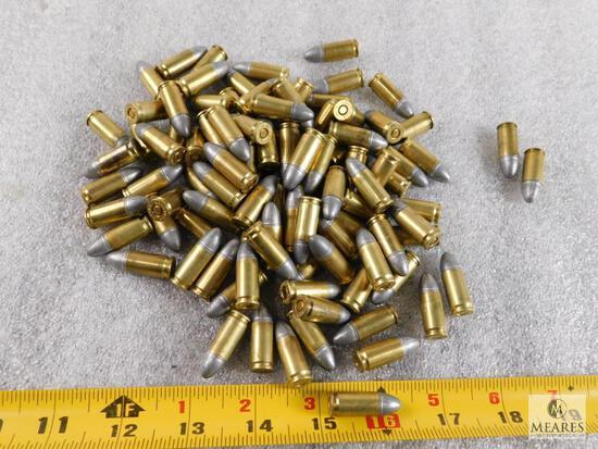 Approximately 100 Rounds 9mm Ammunition 124 Grain