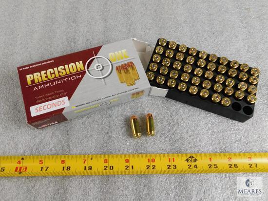 50 rounds .40 S&W ammo 180 grain FMJ