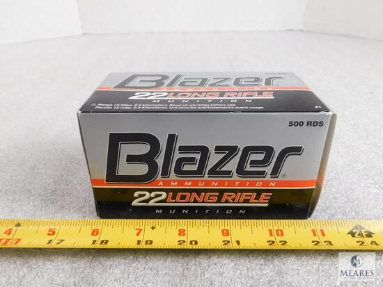 500 rounds Blazer .22 long rifle ammo 40 grain bullet