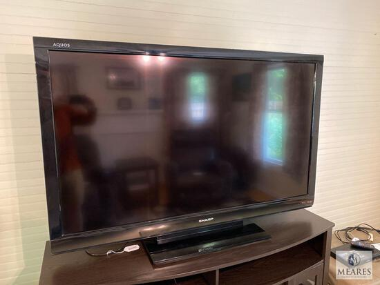Sharp Aquos Liquid Crystal Television with remote