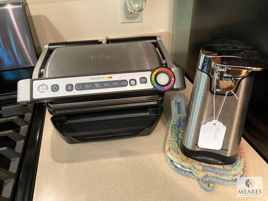 T-Fal OptiGrill and Hamilton Beach Electric Can Opener