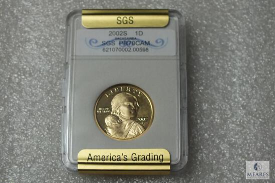 2002-S Sacagawea Dollar