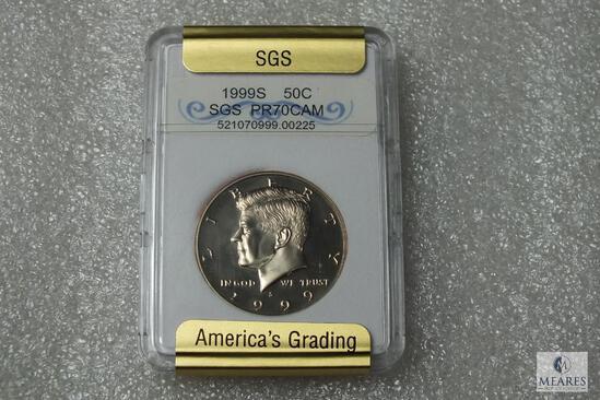 1999-S Kennedy Half Dollar