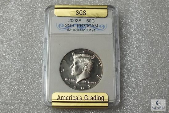 2002-S Kennedy Half Dollar