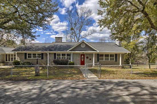 Blythewood SC Home on 12.76 Acres with outbuilding