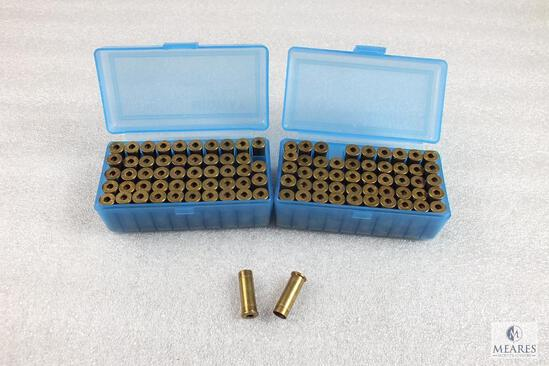 100 Count .38 Special unprimed Brass in Midway Plastic Containers
