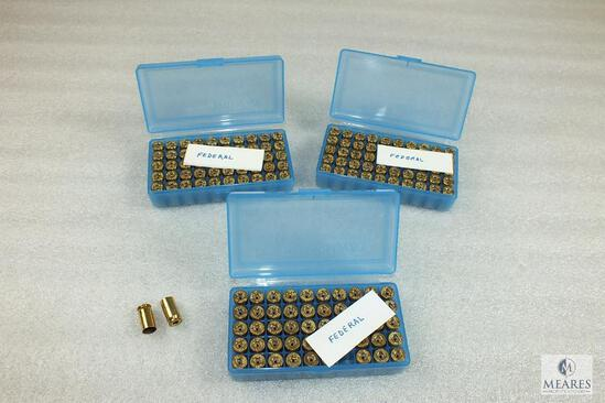 150 Count .45 Auto Federal Unprimed Brass with Plastic Containers