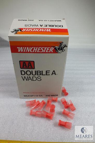 Box Approximately 200 Winchester AA Double A Wads 12 Gauge Shotshell Wads
