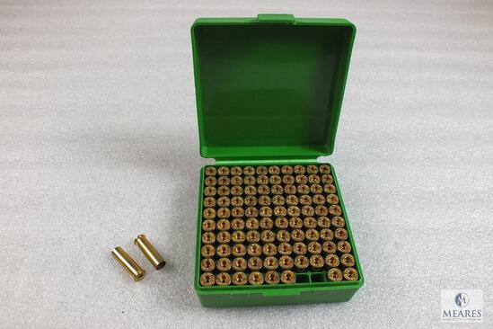 100 Count Federal .357 Magnum unprimed Brass with MTM Plastic Container