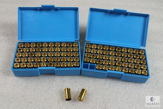 100 Count New .45 Auto unprimed Brass in Midway Plastic Containers