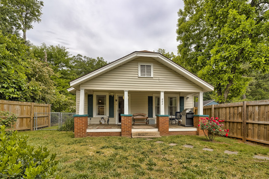 Meticulously Upgraded Bungalow in Spartanburg, SC