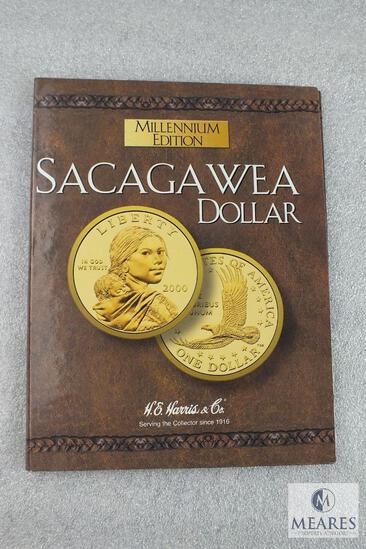 Sacagawea Dollar Millennium Edition Collectors book - empty