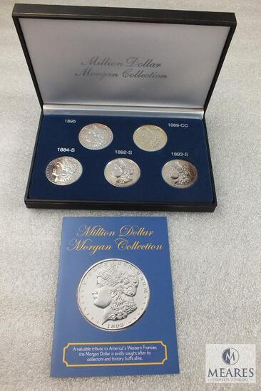 Million Dollar Morgan Collecton Tribute Set