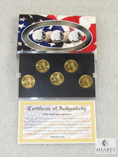 1999 Gold Edition State Quarters Collection