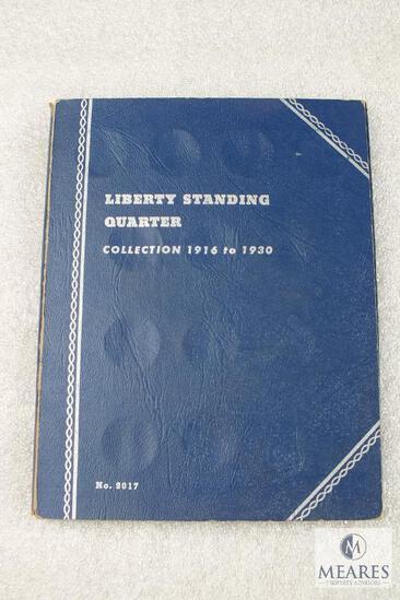 Liberty Standing Quarter Collectors Book - Empty