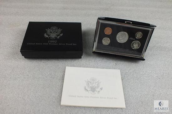 1992 United States Mint Premier Silver Proof Set