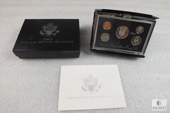 1993 United States Mint Premier Silver Proof Set