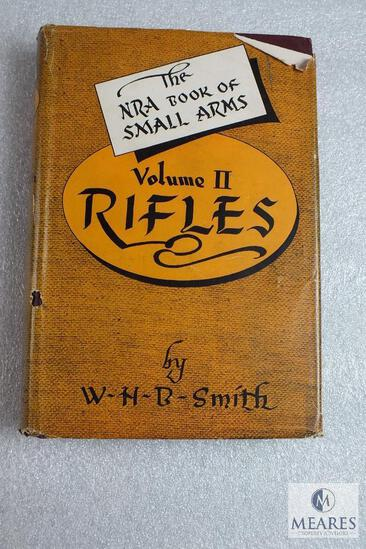 NRA Book of small Arms volume II. Rifles by WHB Smith hardback book