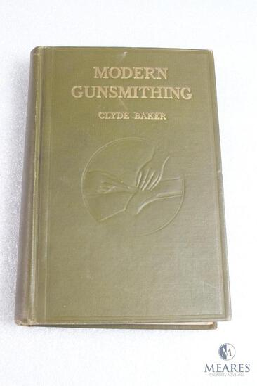 Modern Gunsmithing by Clyde baker hardback book.