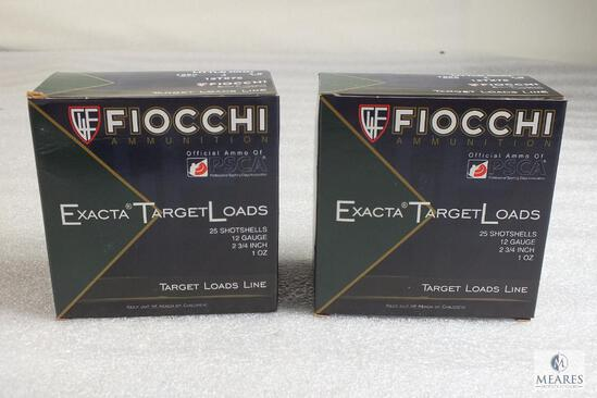 50 Fiocchi Little Rhino 12 Gauge Shotgun Shells 1 oz 7.5 Shot 2-3/4""