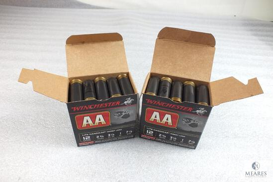 "50 Winchester AA 12 Gauge Shotgun Shells 7-1/2 Shot 1 oz 2-3/4"" Target Load"