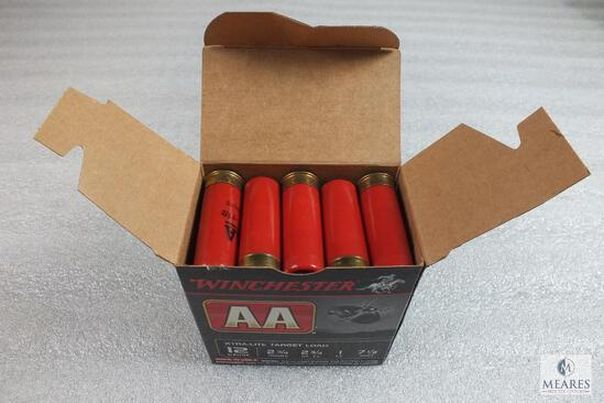 "25 Winchester AA 12 Gauge Shotgun Shells 7-1/2 Shot 1 oz 2-3/4"" Target Load"