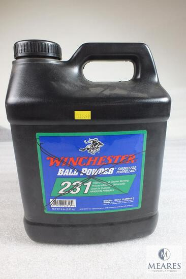 Winchester Ball Powder Smokeless Propellant 231 for Reloading 5.5 lbs. (NO SHIPPING)